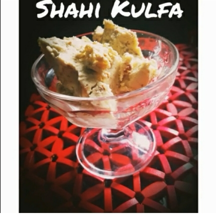 Shahi Kulfa Recipe