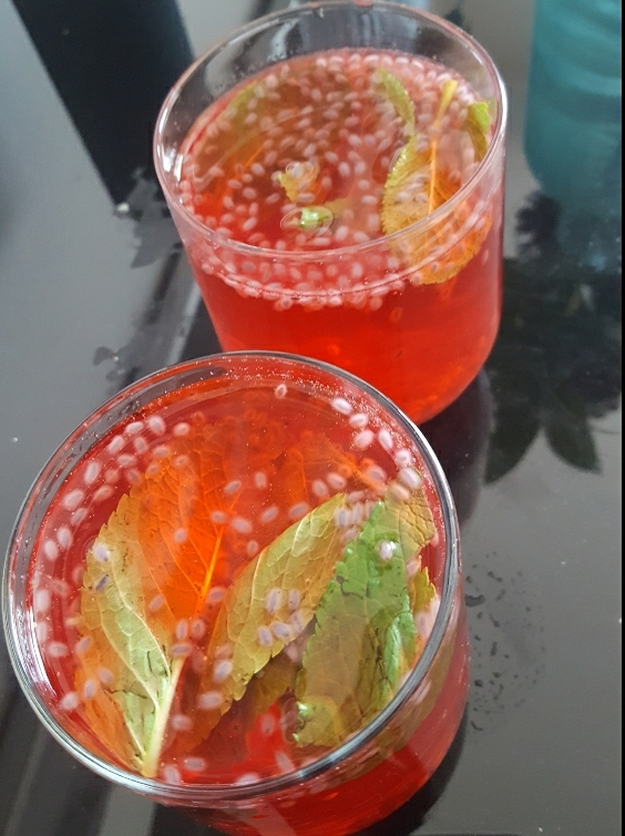 Rose Mojito / Rooh Afza Drink